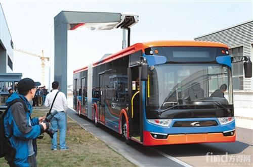 世界最快充电公交车我国下线