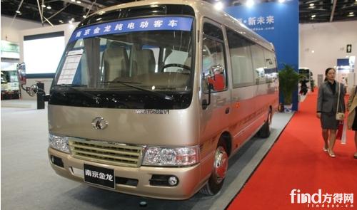 南京金龙纯电动客车NJL6706BEV1-多家车企兵分两路 瞄准高端商务客高清图片