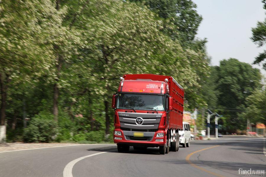 欧曼gtl超能版载货车