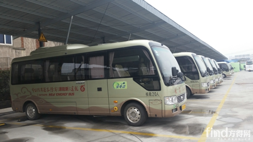 江苏省运营的宇通纯电动商务客车