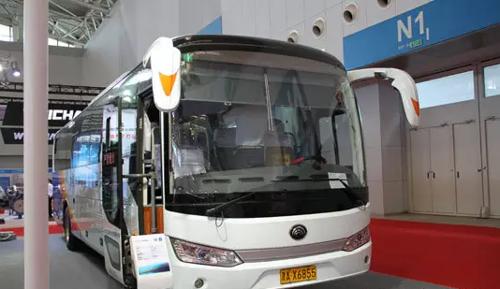 宇通三款纯电动客车亮相天津客车展
