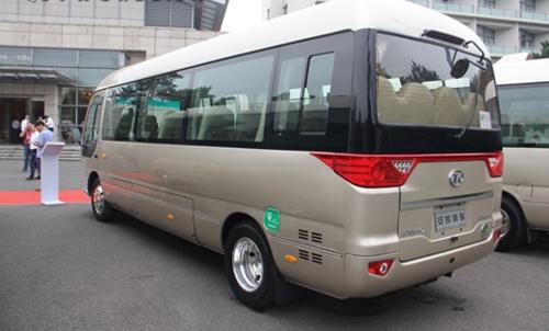 """安凯""""宝斯通""""纯电动商务中型客车-纯电动客车8月产量环比降16 宇通高清图片"""