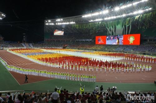 中国第一届青年运动会在福建福州开幕