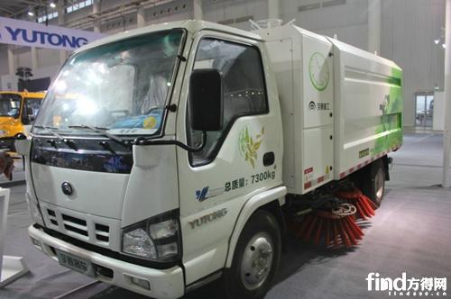 宇通YT25070TSL22BEV純電動掃路車