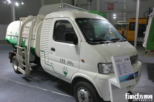 宇通YTZ5030222BEV純電動自裝卸式垃圾車
