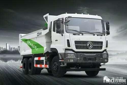 东风天龙KC标载运输渣土车-壕 9款新车 东风商用车今日发布9款卡车