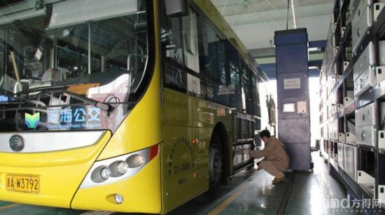 天津:滨海新区首批换电式纯电动公交车正式投运