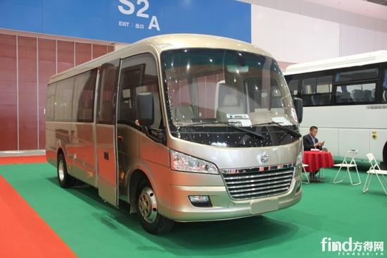 纯电动高端商务中巴E07-纯电动产品占90 天津客车展面面观 附30张图高清图片