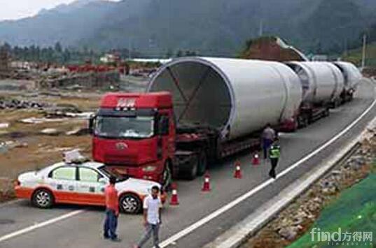 """宁波重拳整治车辆超限超载 38米的巨无霸货车被""""盯上"""""""