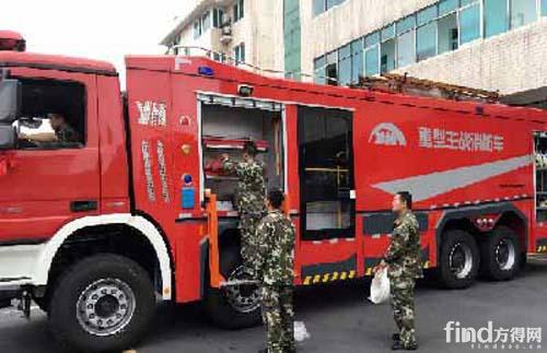 湖南澧县购置18吨重型水罐消防车