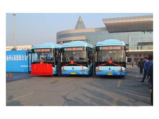 扬州115辆九龙电动公交大换血