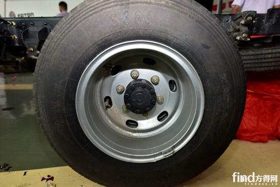 福田风景g7轮胎帽