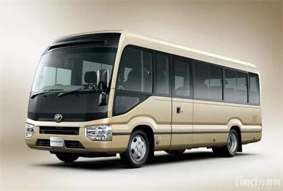 丰田柯斯达推出第四代车型 (1)