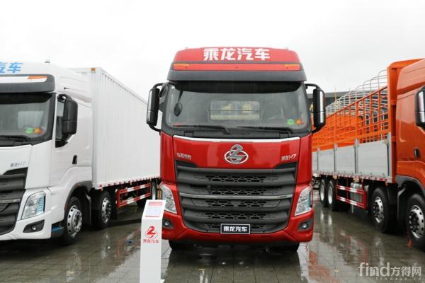 乘龙H7 8×4载货车(WP10H375E50) (2)