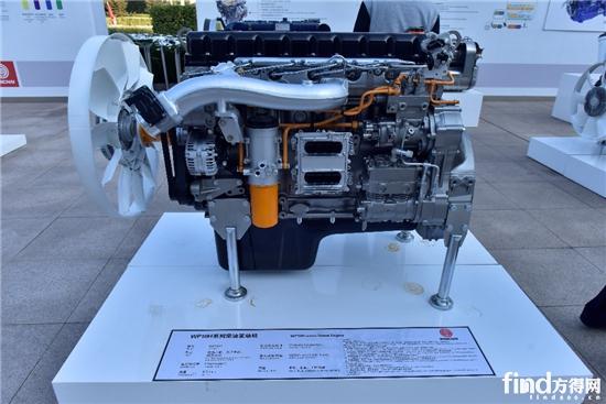 潍柴wp10h系列柴油发动机