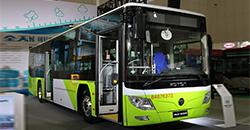 BJ6123系列混合动力城市客车