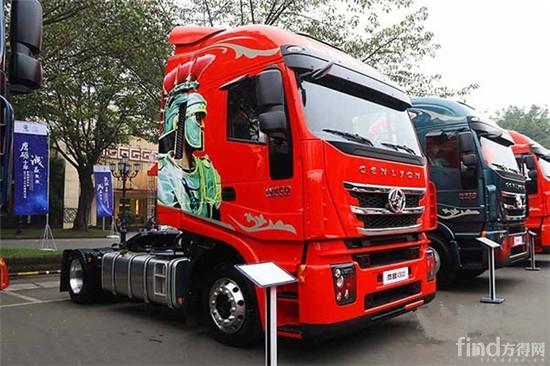 红岩杰狮C500高效物流运输车即将登陆上海车展1