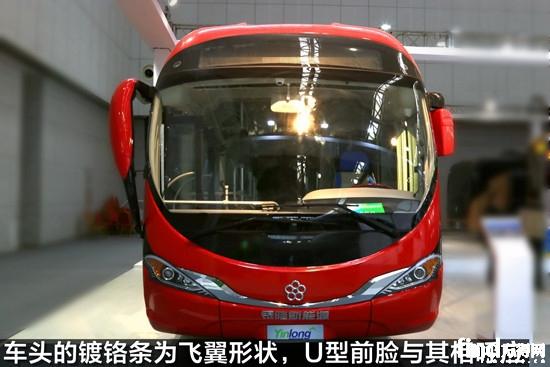 这辆纯电动客车是银隆为珠海brt线路精心打造的一款