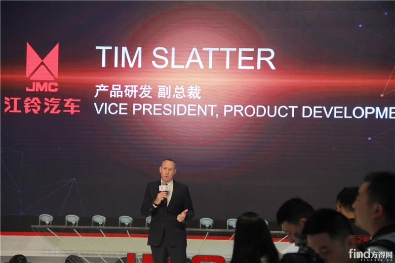 产品研发副总裁TIM