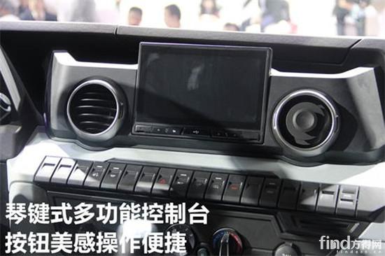【测评】江铃首款重卡!福特最新发动机!威龙重卡详解