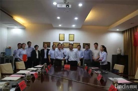 徐工金融服务事业部与中铁建金融租赁签订战略合作协议