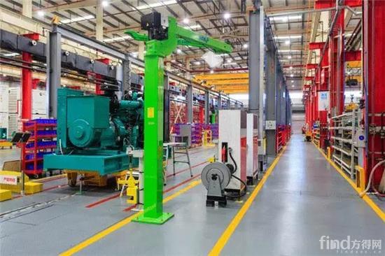 康明斯电力(中国)工厂新流水线产品下线