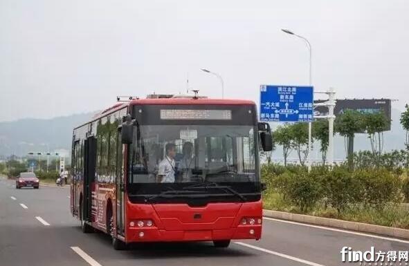 中车电动公开路试 (2)