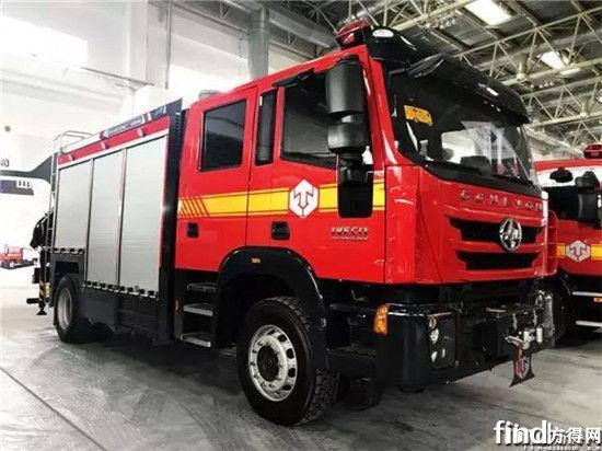四门消防车