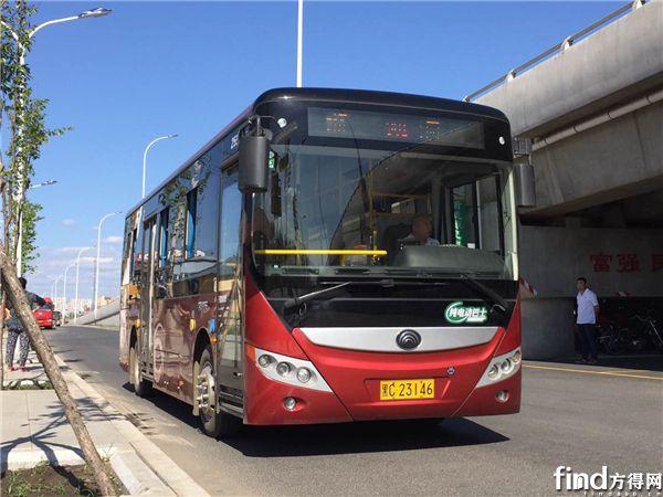 牡丹江纯电动公交车