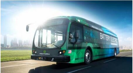 美国电动巴士