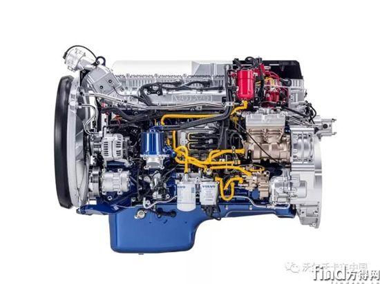 采用柴油循环技术的沃尔沃天然气发动机