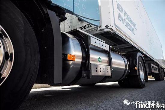 沃尔沃LNG燃料箱