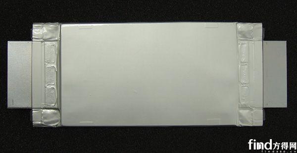 东芝新型锂电池的样品图(50Ah,111mm x 194mm x 14