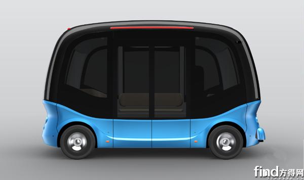 金龙第二代无人驾驶微循环车