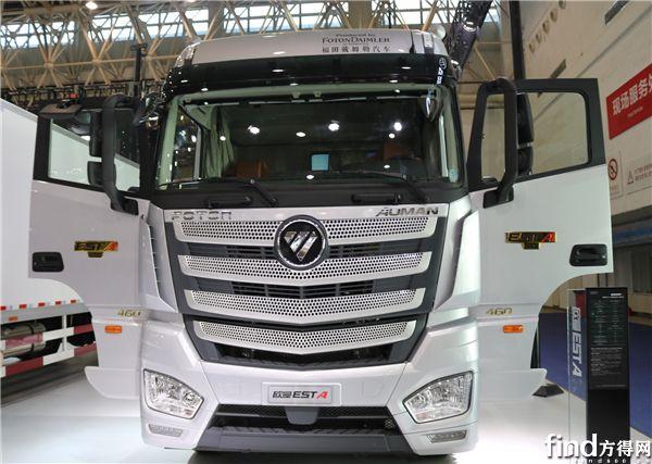 以技术创新引领行业未来趋势 欧曼est超级卡车亮相武汉商用车展