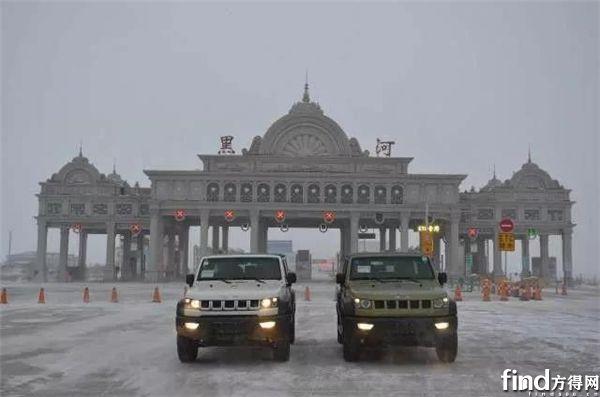 搭载玉柴发动机的北汽B40L越野车明年1月上市