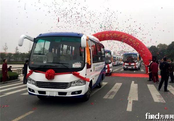 安凯客车批量进藏发车仪式举行 (2)