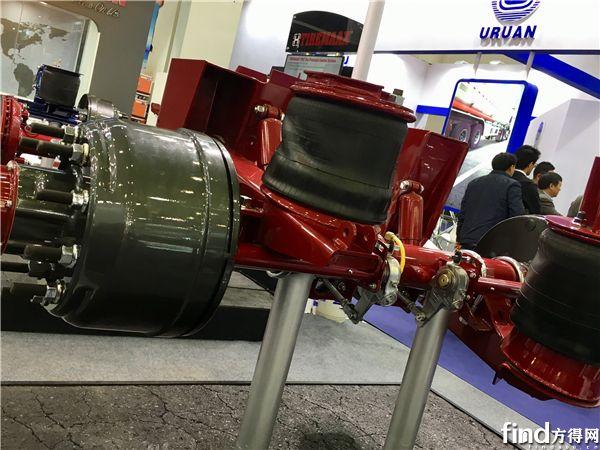 瀚瑞森挂车重型空气悬架系统HSDS