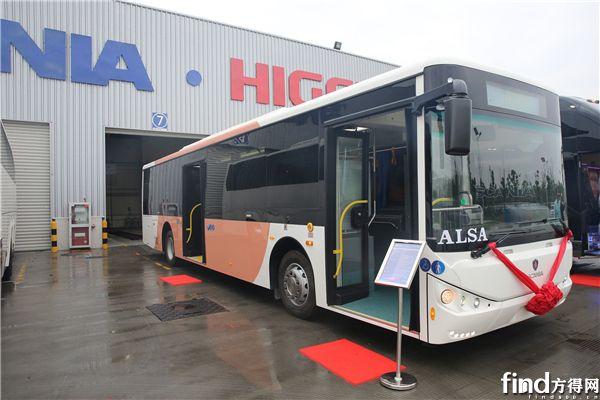 全新斯堪尼亚·海格CL120公交车