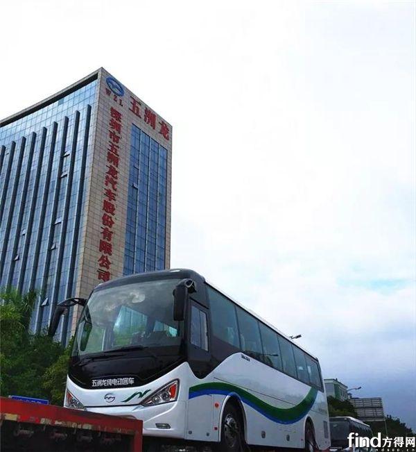 五洲龙客车订单交付 (1)