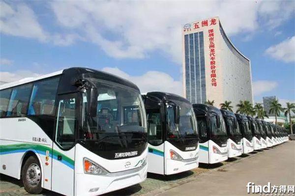 五洲龙客车订单交付 (2)