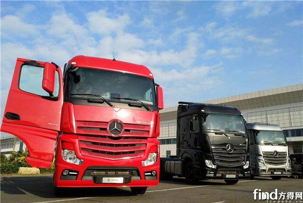 奔驰发布全新一代卡车  (11)