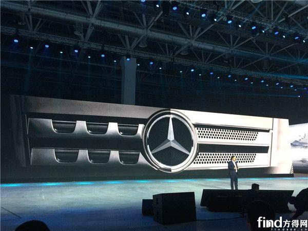 奔驰发布全新一代卡车  (1)