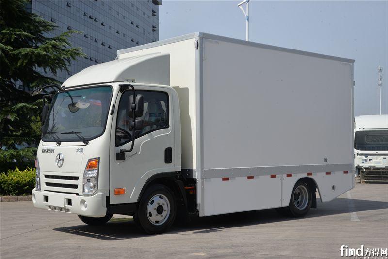 大运厢式载货车1