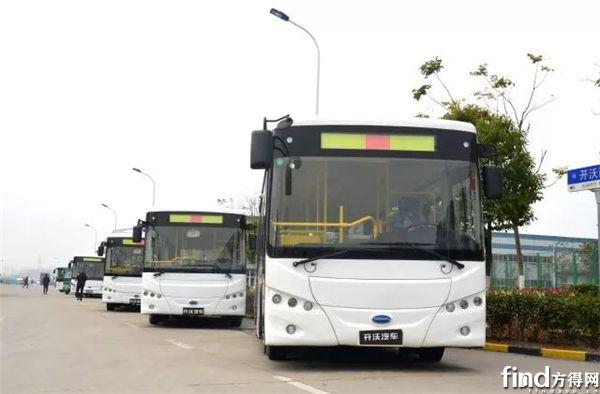 南京金龙开沃纯电动客车