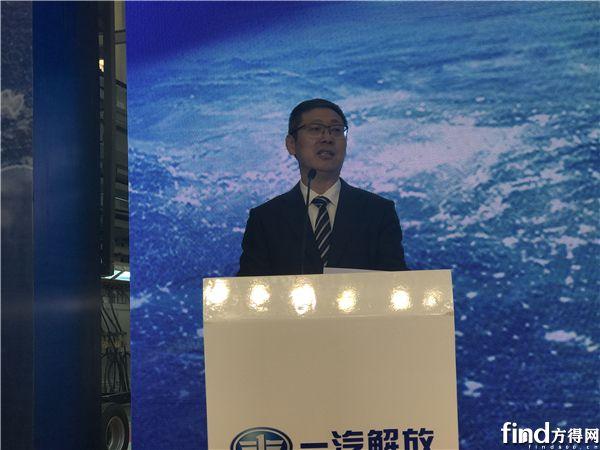 解放公司总经理、党委副书记胡汉杰