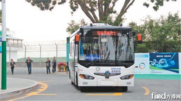 """阿尔法巴上路,东风用""""五化""""诠释未来公交 - 副本"""