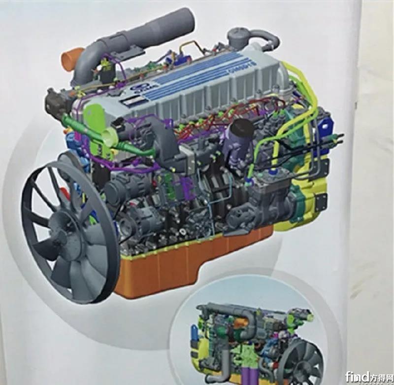 华菱汉马动力国六发动机点火成功