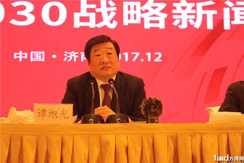 潍柴动力股份有限公司董事长、CEO,陕西重型汽车有限公司董事长谭旭光