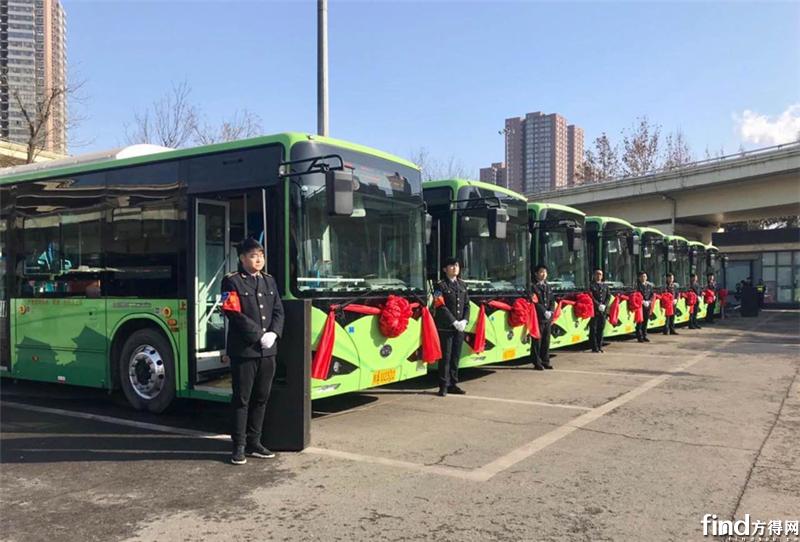 西安再投1900辆比亚迪纯电公交 (2)